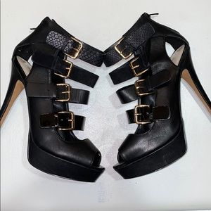 Black Aldo heel